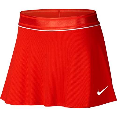 Nike Damen W NKCT Dry NS Rock, Rot (Habanero Red/White), M -