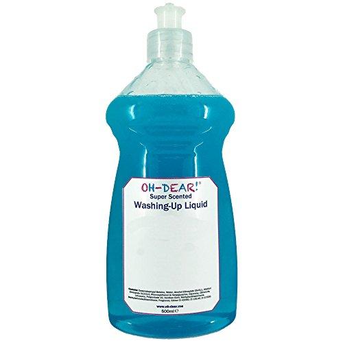 oh-dear. TM Super Duft Spülmittel (2Größen, 120+ Düfte), 500 ml (Honeysuckle-home-duft)