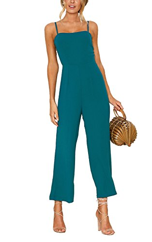 CoCo Fashion Damen Jumpsuit Elegant Hosenanzug...