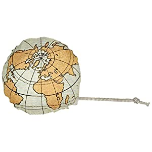 moses. 82427Mando a WEH mágica Shopper Mapa del Mundo, poliéster, Multicolor, 56x 38.0x 0.1cm