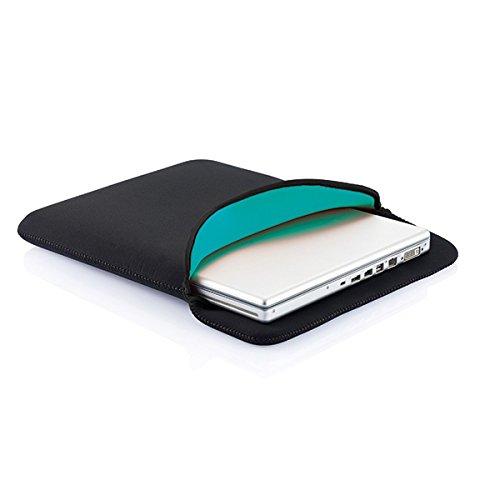 XD Pochette à Ordinateur Portable, 40 cm, 15,4 Pouces, Noir