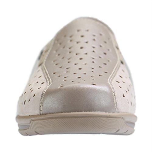 ARA mocassin pour femme modèle 26301-08 taupe / ciment Taupe