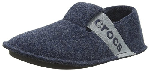 Crocs Unisex-Kinder Classic Slipper Kids Pantoffeln, Blau (Navy),J2 UK(33-34 EU)