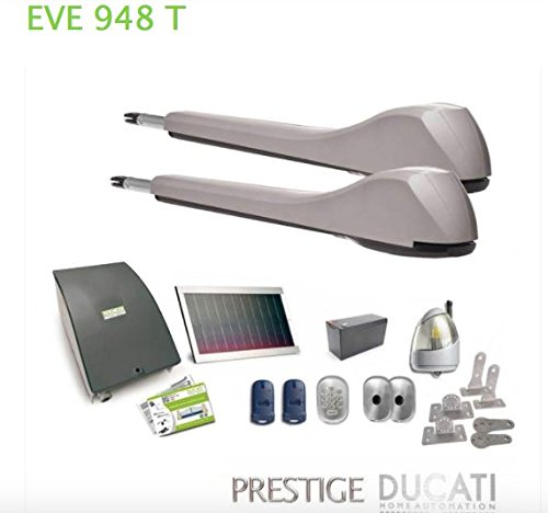 Ducati-Kit-apricancello-Solar-Eve-948t-Solar-Ideal-para-garaje-a-2-puertas-mazos-Max-5-m500kg-cada-puerta