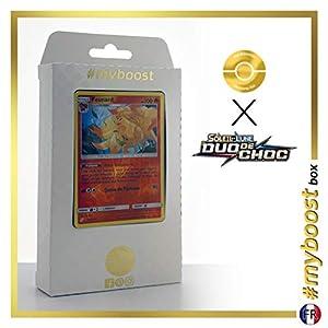 Feunard (Ninetales) 16/181 Holo Reverse - #myboost X Soleil & Lune 9 Duo de Choc - Box de 10 Cartas Pokémon Francés