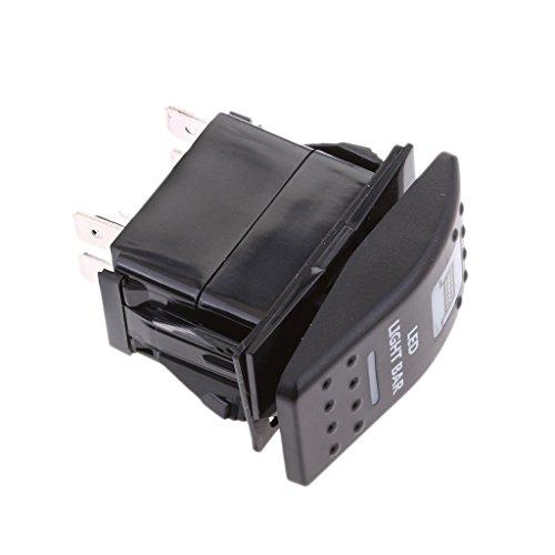 Light Bar-schalter (Baoblaze IP66 Imprägnieren LED lightbar Rocker Schalter Für Polarstern UTV LKW Auto Auto)