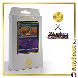 Roigada (Slowking) 48/147 Holo Reverse - #myboost X Soleil & Lune 3 Ombres Ardentes - Box de 10 Cartas Pokémon Francés