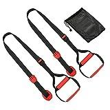 MetaBall Bodyweight Allenamento in Sospensione Kit di Resistenza per Il Fitness Cinghie per Barra di Sollevamento della Porta, Punto di Ancoraggio per allenamenti Completi del Corpo V1