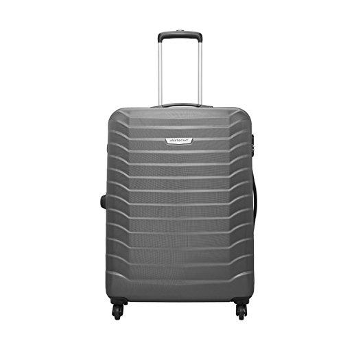 c83f0fa8cc7f Aristocrat Juke Polycarbonate 75 cms Grey Hard Sided Suitcase (JUKE75TMGP)