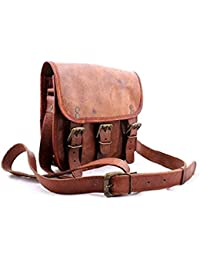 "9"" Leather Cross Body Bags Leather Sling Bag For Women Purse For Znt Bags - B0795TVGHX"