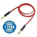 #7: Captcha 3.5mm Male to Male Car Aux Auxiliary Cord Stereo Audio Cable Connector