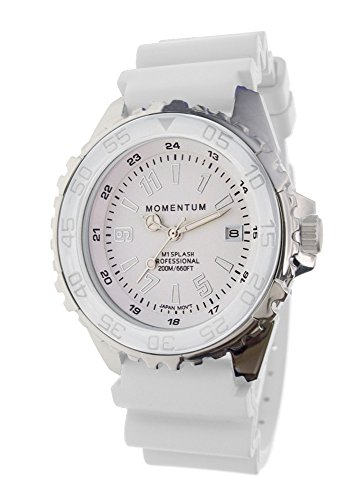 Momentum Unisex-Adult Analog-Quartz Watch with Rubber Strap 1M-DN63WS11W