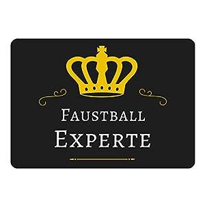 Mousepad Faustball Experte schwarz