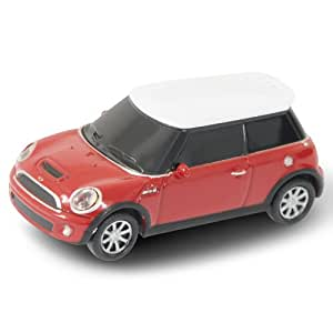 autodrive cl usb en forme de voiture bmw mini cooper rouge 4 go informatique. Black Bedroom Furniture Sets. Home Design Ideas