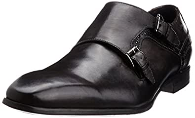 Ruosh Men's Grey Leather Formal Shoes - 11 UK/India (45 EU)(12 US)