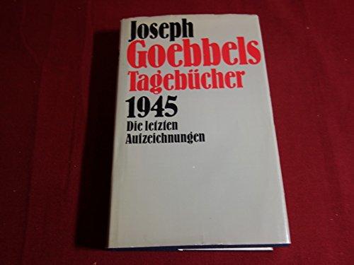 goebbels tagebücher