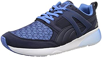 Puma Aril 3d 1, Damen Sneakers, Blau (marina Blue/peacoat), 39 EU