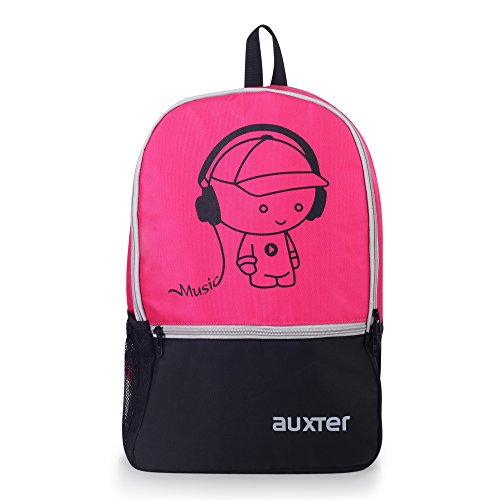 AUXTER Polyester 33 Litre Pink School Backpack Image 6