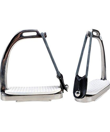 Hkm 540356estribos de seguridad de acero inoxidable per pares, Ancho 12cm
