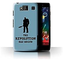 Coque de Stuff4 / Coque pour Motorola RAZR HD/XT925 / Revolution Ragnarok Art Design / Citations Drôles Korg Collection