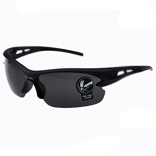 Z-P Men's Outdoor Sports Style Bicycle Cool Anti-explosion Night Vision Sunglasses 69MM