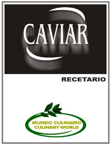 CAVIAR - RECETARIO