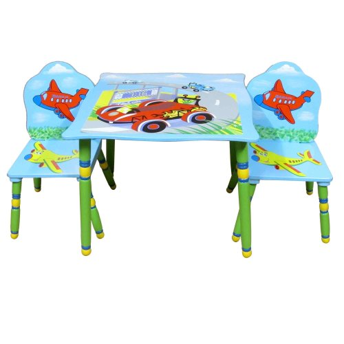 Liberty House Toys Transport Tisch und Stuhl Set