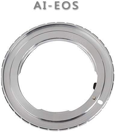 Ring für Nikon AI F Objektiv zu Canon EOS EF EF-S DSLR Film SLR Kamera 1D X 1D C 5D 5DS R 6D 7D Mark II/II/IV 60D 70D 77D 80D 700D 750D 760D 800D 1000D ()