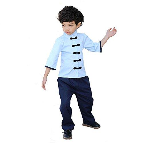 Wgwioo Kindergarten Garten Kleidung Schule Uniformen Kinder Klasse Graduierung Republik China Schule Spiel Party Aufführungen Kostüme, Boy, ()