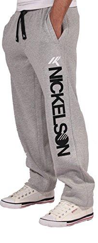 Nickelson -  Tuta da ginnastica  - Uomo Grey