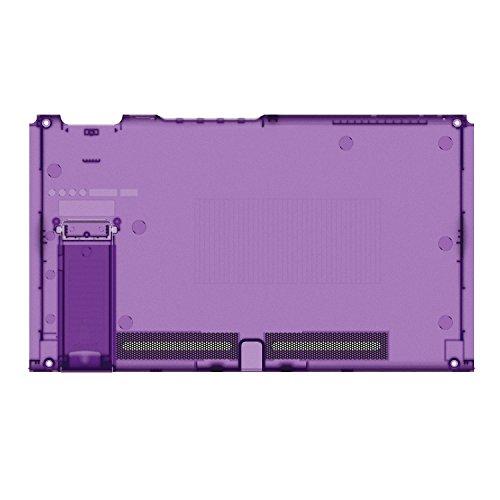 basstop DIY Ersatz Gehäuse Set für Schalter NS NX Konsole Rechts und Links Joy-Con Controller Wechseln, Ohne Elektronik Console-Atomic Purple -