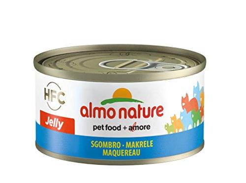 Almo Nature HFC Jelly Katzenfutter - Makrele 24x70 g