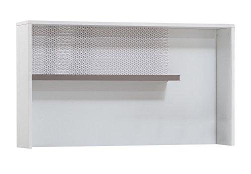 GEO Studium Tisch mit UV Bedruckt, 112 x 64 x 23 cm, weiß (Childs Hutch)