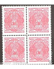 Revenue Stamp for Rent Receipts 40 Stamps of 100 Paisa