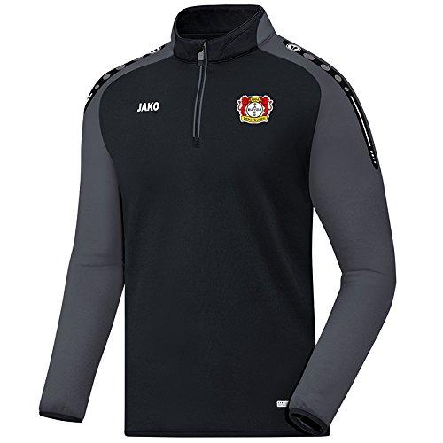 Jako Bayer 04 Leverkusen Ziptop Fan 2017/18 schwarz schwarz-anthrazit, M