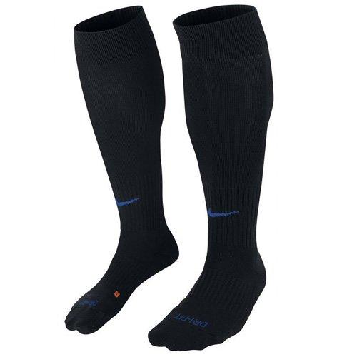 Nike Classic II Sock Socken Unisex S , Black/Royal Blue (Fußball-elite Socks Nike)