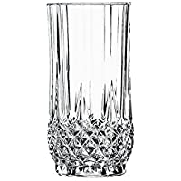 Cristal DArques Longchamp - Vaso alto de vidrio 360 ml, sin la marca