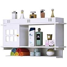 HQQ Punch-Libre Cuarto de baño Estante de baño Caja de Almacenamiento gabinete Lavabo de