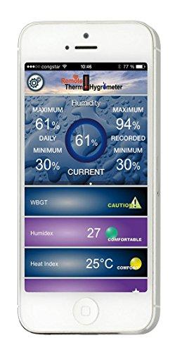 TFA 30.5034.02 Dostmann DOMINO Thermo-Hygrometer mit Bluetooth - 4