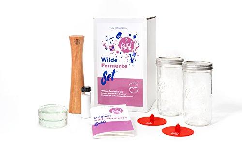 Fairment    Original Wilde Fermente Set - Sauerkraut, Kimchi, saure Gurken und Anderen Fermente milchsauer vergoren - mit Einfacher Anleitung, Rezept und Erfolgsgarantie