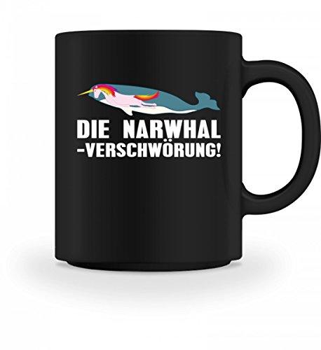 Chorchester Hochwertige Tasse - Die Narwhal Einhorn Verschwörung