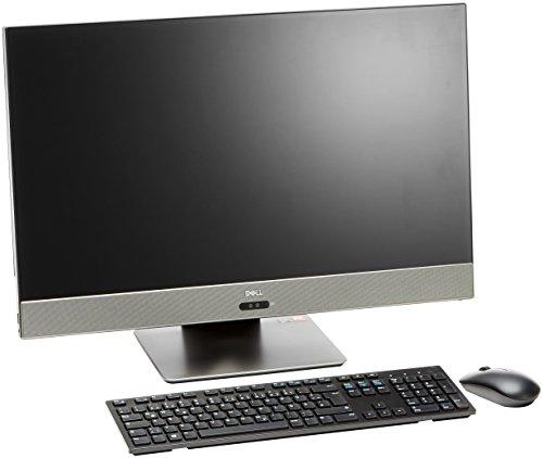 Dell Inspiron AIO DT 7775 68,6 cm (27 Zoll UHD) Desktop (AMD Ryzen 7 1700, 1TB HDD + 256GB SSD, AMD Radeon RX580 8GB GDDR5 (R17M-E1-90), Win 10 Home 64bit German) grau