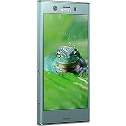 Sony Xperia XZ1 Compact Smartphone 11,65 cm (4,6 Zoll) Triluminos Display (19MP Kamera, 32GB Speicher, Android) Blau - Deutsche Version Sony Xperia
