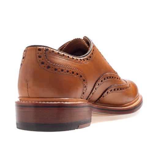 Gordon & Bros  Levet, Chaussures de ville à lacets pour homme Marron - Braun (tan)
