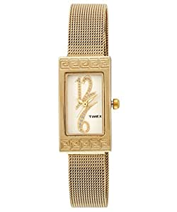 Timex Empera Analog Gold Dial Women's Watch - E501