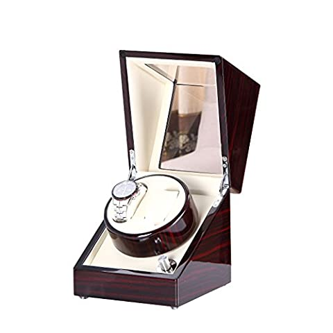 Love Nest Fabrication artisanale en bois Montre automatique Winder Box Double / Dual Winder 2EB