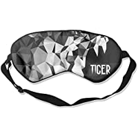 Sleep Eye Mask Abstract Tiger Head Lightweight Soft Blindfold Adjustable Head Strap Eyeshade Travel Eyepatch preisvergleich bei billige-tabletten.eu