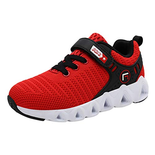 Kinder Sneaker Mädchen Turnschuhe Laufschuhe Jungen Mädchen Hallenschuhe Outdoor Sportschuhe Heligen Schuhe Low-Top für Unisex Casual Mesh Atmungsaktive Outdoor Kinder Turnschuhe