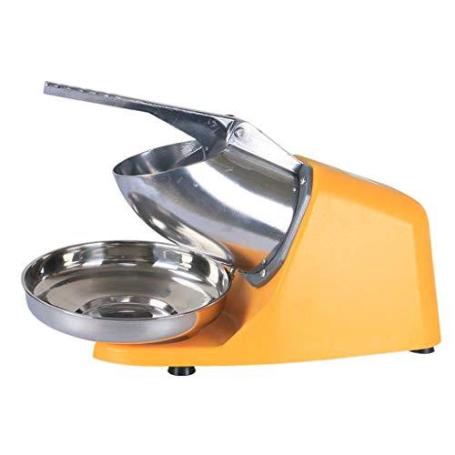 Afeitadora eléctrica de hielo JCOCO 380W 2200r / min con cuchilla de acero inoxidable Máquina de cocina de máquina de cono de hielo y hielo afeitado, 187 lbs/hr para uso doméstico y comercial