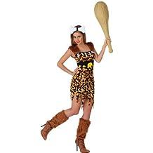 Atosa - Disfraz de cavernícola para mujer, talla XL (22803)